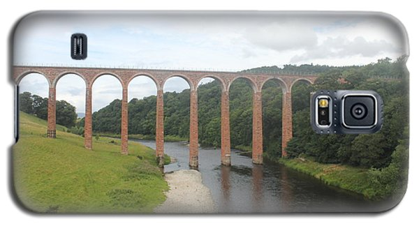 Galaxy S5 Case featuring the photograph Leaderfoot Viaduct by David Grant
