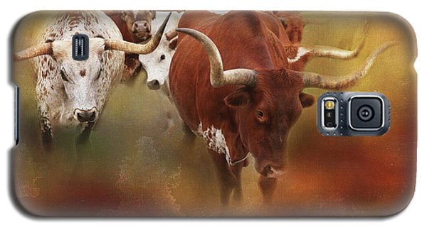 Leading The Herd Galaxy S5 Case by Toni Hopper
