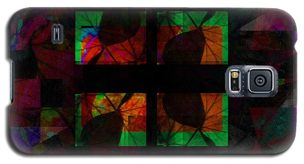 Leaf Fall Abstract Galaxy S5 Case