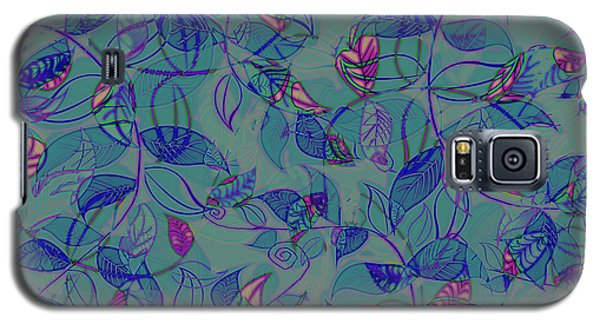 Leaf Mesh Galaxy S5 Case by Linde Townsend