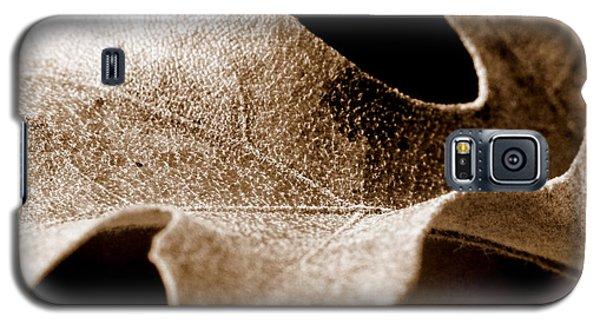 Leaf Study In Sepia Galaxy S5 Case