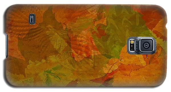 Leaf Texture And Background Galaxy S5 Case