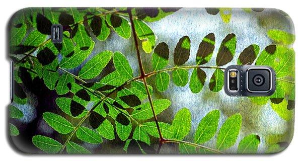 Leafy Textures Galaxy S5 Case