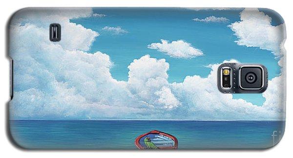 Leaky Little Boat Galaxy S5 Case