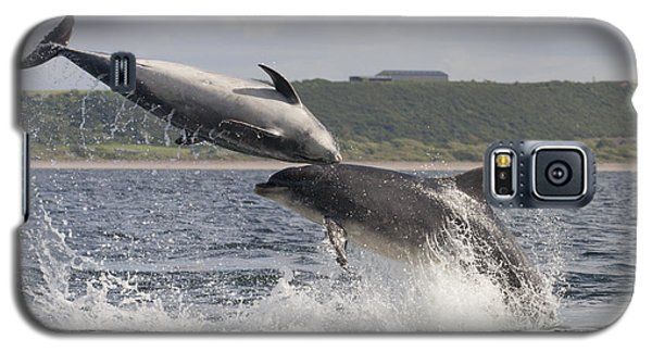 Leaping Bottlenose Dolphins - Scotland  #38 Galaxy S5 Case