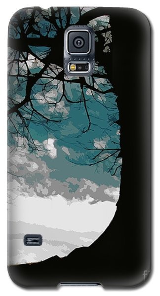 Galaxy S5 Case featuring the digital art Leaping Spirit by Misha Bean
