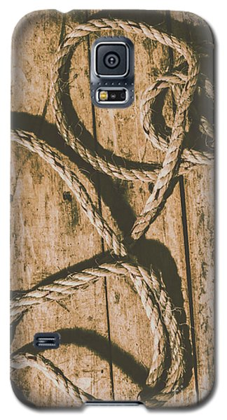Galaxy S5 Case featuring the photograph Learning The Ropes by Jorgo Photography - Wall Art Gallery