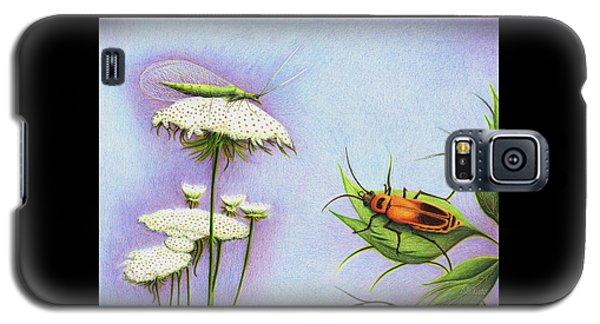 Leather And Lace... For The Gardeners Galaxy S5 Case by Danielle R T Haney