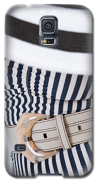Galaxy S5 Case featuring the photograph Leather Belt With A Buckle  by Andrey  Godyaykin