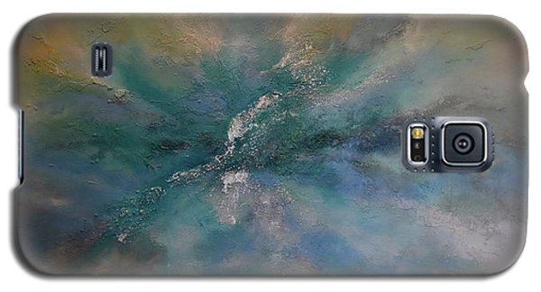 Galaxy S5 Case featuring the painting Leave It To The Breeze by Tamara Bettencourt