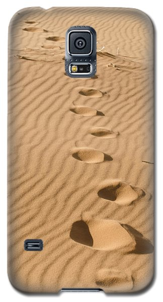 Leave Only Footprints Galaxy S5 Case by Heather Applegate