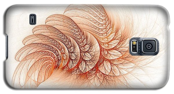 Leaves Of The Fractal Ether-2 Galaxy S5 Case