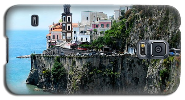 Leaving Atrani  Italy Galaxy S5 Case by Jennie Breeze