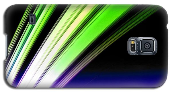 Leaving Saturn In Cobalt And Lime Galaxy S5 Case