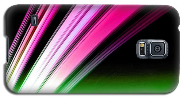 Leaving Saturn In Hot Pink And Green Galaxy S5 Case