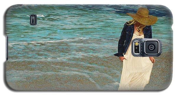 Leaving The Beach Galaxy S5 Case