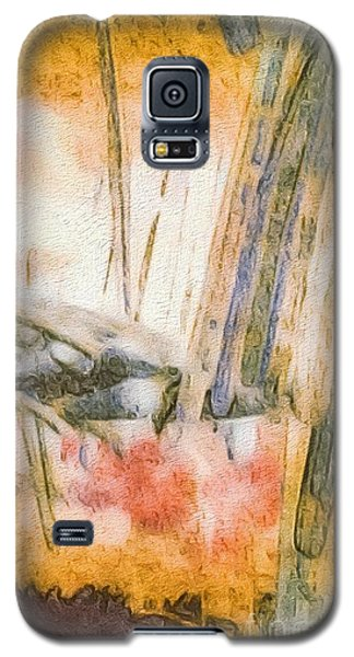 Galaxy S5 Case featuring the photograph Leaving The Woods by William Wyckoff