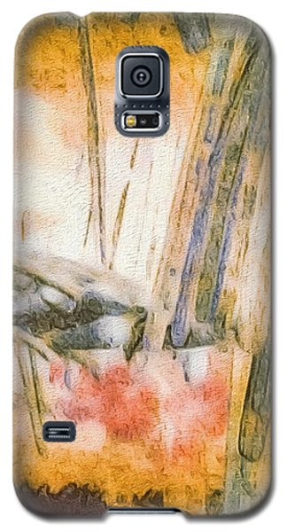 Leaving The Woods Galaxy S5 Case by William Wyckoff