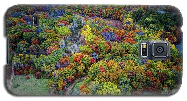 Lebanon Hills Park Eagan Mn Autumn II By Drone Galaxy S5 Case