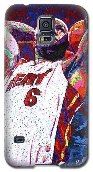 Lebron Dunk Galaxy S5 Case by Maria Arango