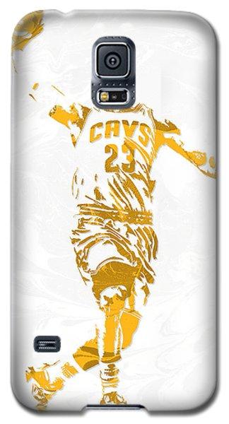 Lebron James Cleveland Cavaliers Pixel Art 12 Galaxy S5 Case