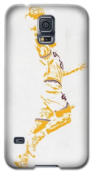 Lebron James Cleveland Cavaliers Pixel Art Galaxy S5 Case