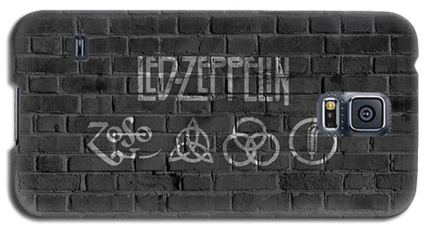 Led Zeppelin Brick Wall Galaxy S5 Case