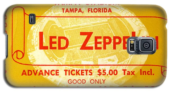 Music Galaxy S5 Case - Led Zeppelin Ticket by David Lee Thompson