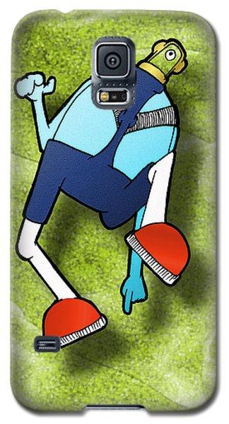 Galaxy S5 Case featuring the digital art Lederhosen by Uncle J's Monsters