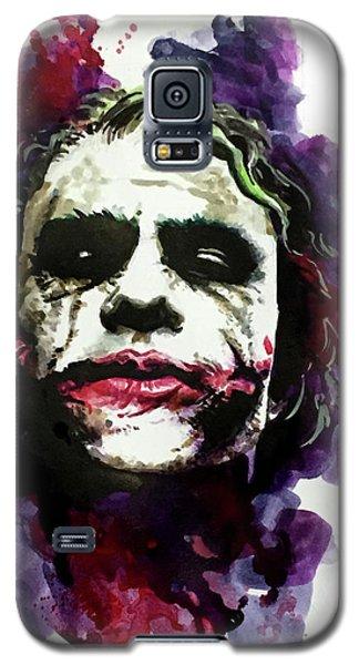 Heath Ledger Galaxy S5 Case - Ledgerjoker by Ken Meyer