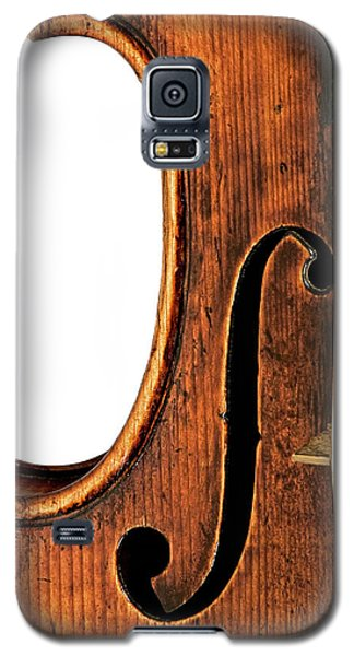 Left F Galaxy S5 Case by Endre Balogh