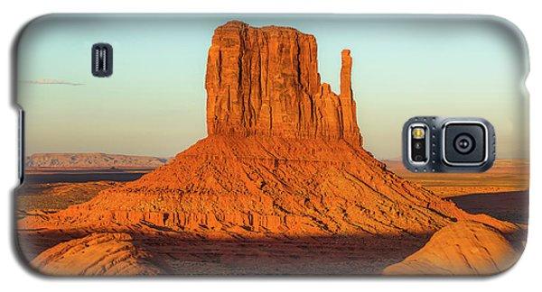 Left Mitten Sunset - Monument Valley Galaxy S5 Case