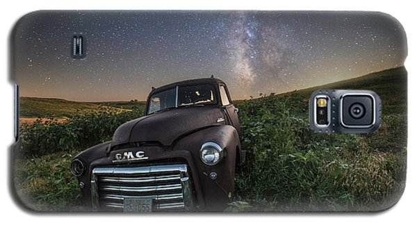 Galaxy S5 Case featuring the photograph Left To Rust by Aaron J Groen