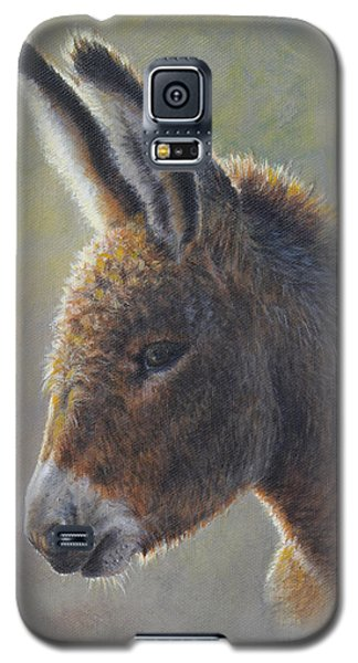 Galaxy S5 Case featuring the painting Lefty by Kim Lockman