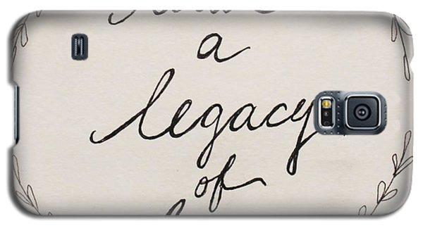 Legacy Of Love Galaxy S5 Case by Elizabeth Robinette Tyndall