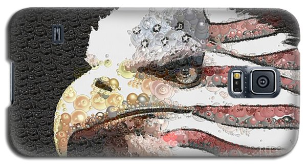 Galaxy S5 Case featuring the painting Legally Unlimited Eagle by Catherine Lott
