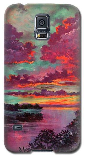 Legend Of A Sunset Galaxy S5 Case