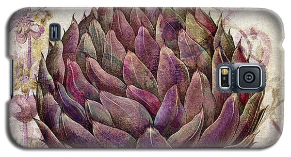 Legumes Francais Artichoke Galaxy S5 Case