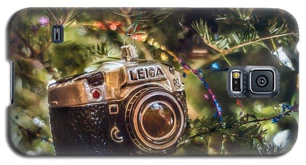 Leica Christmas Galaxy S5 Case