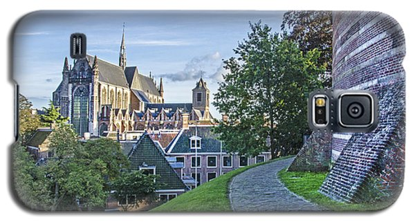 Leiden, The Church And The Castle Galaxy S5 Case