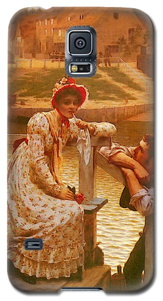 Leighton Edmund Blair Courtship Galaxy S5 Case