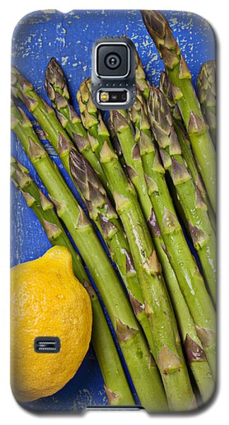 Lemon And Asparagus  Galaxy S5 Case by Garry Gay