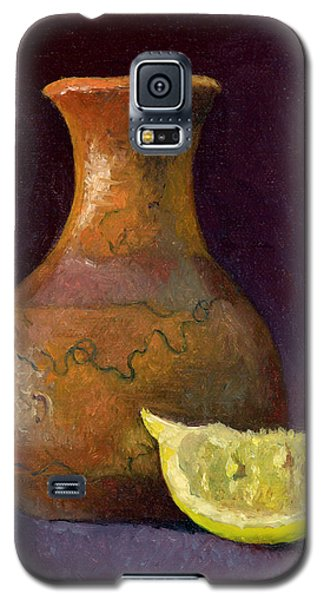 Lemon And Horsehair Vase A First Meeting Galaxy S5 Case