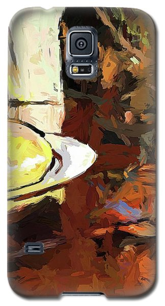 Lemon Bowl Wine Glass Fork Galaxy S5 Case