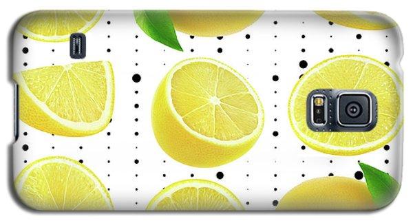 Lemon  Galaxy S5 Case by Mark Ashkenazi