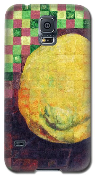 Galaxy S5 Case featuring the painting Lemon Squares by Shawna Rowe