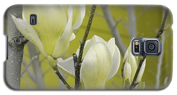 Galaxy S5 Case featuring the photograph Lemon Yellow by Athala Carole Bruckner