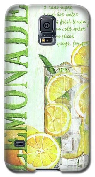 Galaxy S5 Case featuring the painting Lemonade by Debbie DeWitt