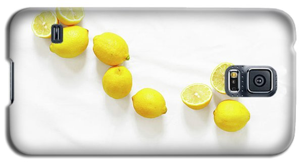 Lemons Galaxy S5 Case by Lauren Mancke