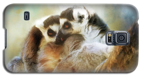 Lemur Cuddle Galaxy S5 Case